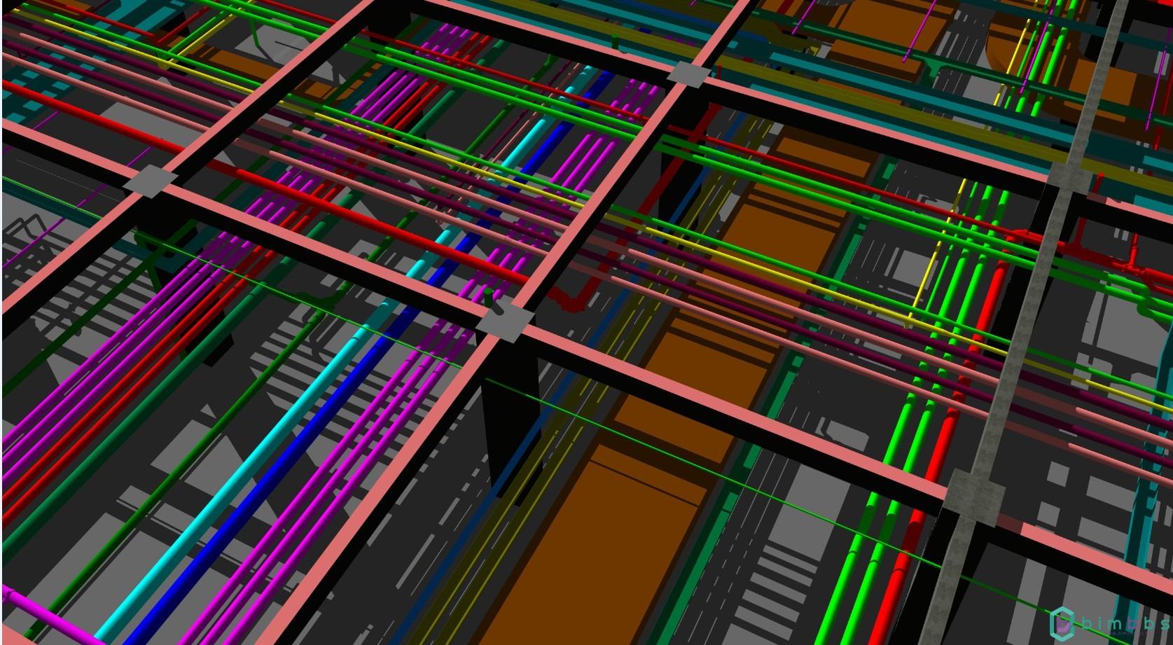 MEP管线综合设计要点-BIMBANK原创-BIMBANK
